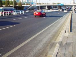 北京二环路抢修