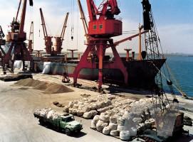 硫铝酸钙(CSA)胶结料港口发货图片