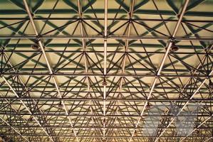GRC网架板用于汉口飞机场