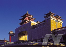 GRC网架板用于北京西客站